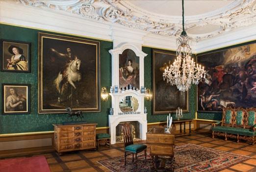 Schloss Wofelbüttel Kronleuchter