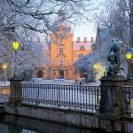 Schloss Bückeburg bei Schnee